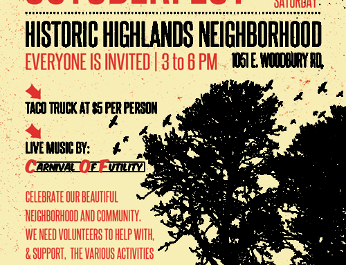 Historic Highlands Fall 2016 Appreciation Party